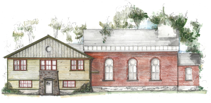 Rendering of 10 Old Plank Rd remodeled